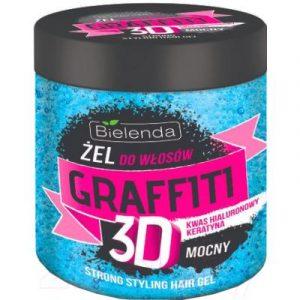 Гель для укладки волос Bielenda Graffiti 3D Strong синий