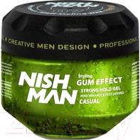 Гель для укладки волос NishMan G1 Ultra Hold Hair Styling Gel
