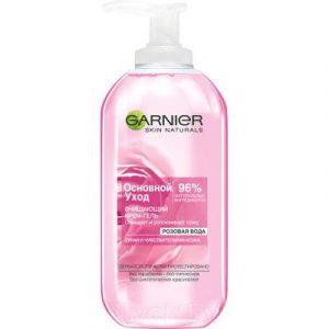 Гель для умывания Garnier Роза oсновной уход для сухой и чувствительной кожи