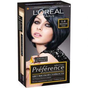Гель-краска для волос L'Oreal Paris Preference 1.0