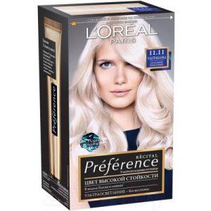 Гель-краска для волос L'Oreal Paris Preference 11.11