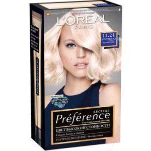 Гель-краска для волос L'Oreal Paris Preference 11.21