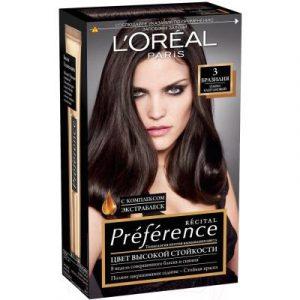 Гель-краска для волос L'Oreal Paris Preference 3 Бразилия