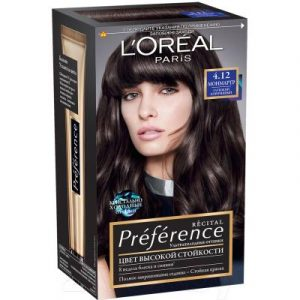 Гель-краска для волос L'Oreal Paris Preference 4.12 Монмартр