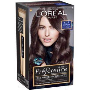Гель-краска для волос L'Oreal Paris Preference 5.21 Нотр-Дам