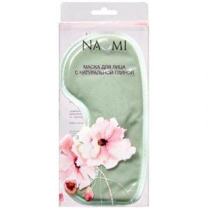 Гелевая маска для глаз Naomi KZ 0655 с глиной