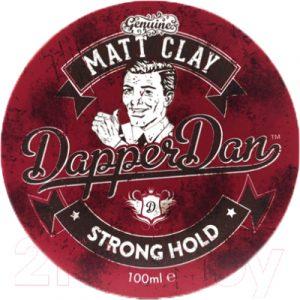 Глина для укладки волос DapperDan Matt Clay MC01