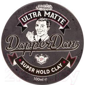 Глина для укладки волос DapperDan Ultra Matt Clay UM01