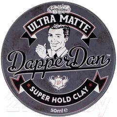 Глина для укладки волос DapperDan Ultra Matt Clay UM02