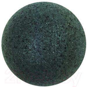 Губка для лица After Spa Charcoal Konjac Sponge