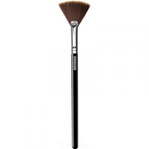 Кисть для макияжа LuxVisage № 10 для хайлайтера веерная