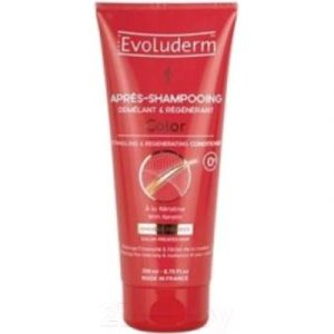 Кондиционер для волос Evoluderm Color Detangling&Regenerating With Keratin для окрашенных волос