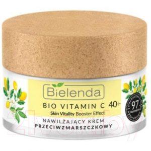 Крем для лица Bielenda Bio Vitamin C Увлажняющий против морщин 40+ день/ночь