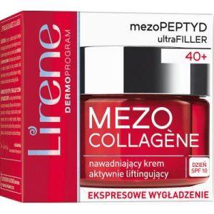Крем для лица Lirene Mezo Collagene увлажняющий активно разглаживающий крем SPF10