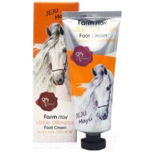 Крем для ног FarmStay С лошадиным маслом