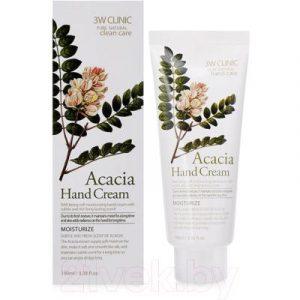 Крем для рук 3W Clinic Acacia Hand Cream увлажняющий