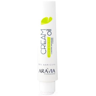 Крем для рук Aravia Professional Cream Oil с маслом макадамии и карите