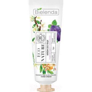 Крем для рук Bielenda Eco Nature Ванильное молоко+инжир+цветок апельсина регенерир пит