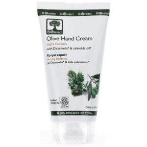 Крем для рук BIOselect Olive Hand Cream Light Texture