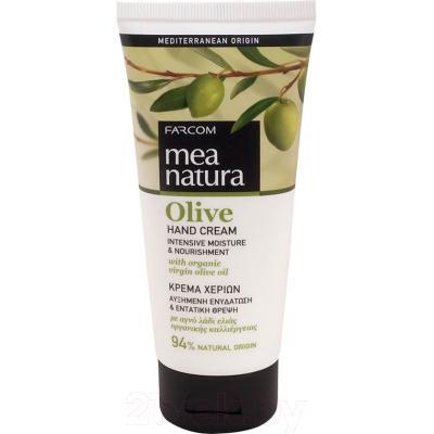 Крем для рук Farcom Mea Natura Olive увлажняющий и питательный с оливковым маслом