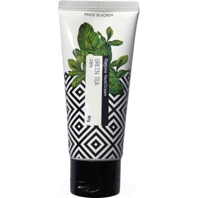 Крем для рук Jungnani Perfume Hand Cream Green Tea