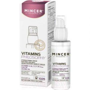 Крем для рук Mincer Pharma Концентрат укрепляющий для рук и ногтей