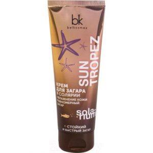 Крем для загара BelKosmex Sun Tropez увлажнение кожи равномерный загар
