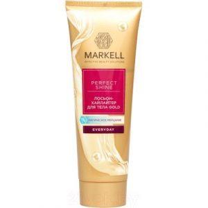 Лосьон для тела Markell Perfect Shine Gold хайлайтер для тела