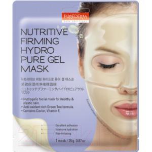 Маска для лица гидрогелевая Purederm Nutritive Firming Hydro Pure Gel Mask укрепляющая