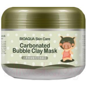 Маска для лица кремовая Bioaqua Очищающая пузырьковая