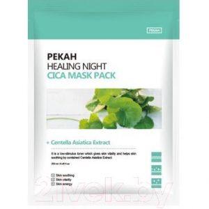 Маска для лица тканевая Pekah Вечерняя восстанавливающая с экстрактом центеллы азиатской