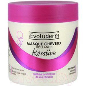 Маска для волос Evoluderm Восстанавливающая с маслом карите