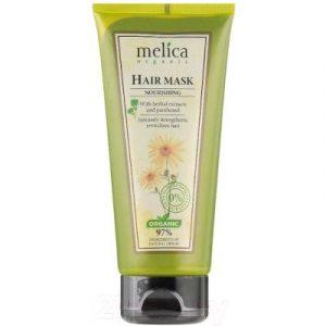 Маска для волос Melica Organic Питательная с растительными экстрактами и пантенолом
