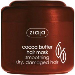 Маска для волос Ziaja Разглаживающая масло какао