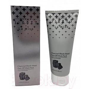 Маска-пленка для лица Jigott & La Miso Premium от черных точек с углем