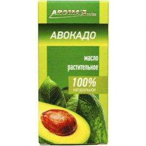 Масло косметическое Aroma Saules Растительное Авокадо