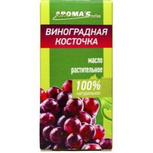 Масло косметическое Aroma Saules Растительное Виноградная косточка