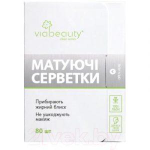 Матирующие салфетки для лица Viabeauty Для всех типов