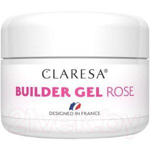 Моделирующий гель для ногтей Claresa Builder Gel Rose
