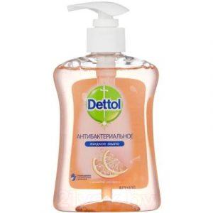 Мыло жидкое Dettol Антибактериальное с ароматом грейпфрута