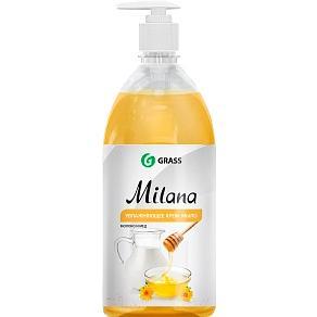 Мыло жидкое Grass Milana Молоко и мед / 126101