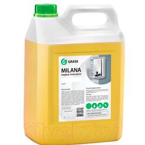 Мыло жидкое Grass Milana Молоко и мед / 126105
