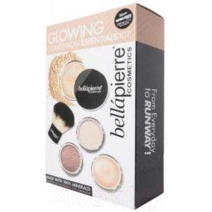 Набор декоративной косметики Bellapierre Glowing Complexion Essentials Kit тон Dark