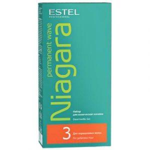 Набор для химической завивки Estel Niagara для химической завивки для окрашенных волос