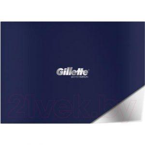 Набор косметики для бритья Gillette Fusion ProShield Chill бритва+5 кассет+гель д/бритья 200мл+подс.