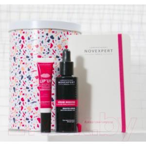 Набор косметики для лица Novexpert Сыворотка Hyaluronic Acid+бальзам для губ восполн. объем+блокнот