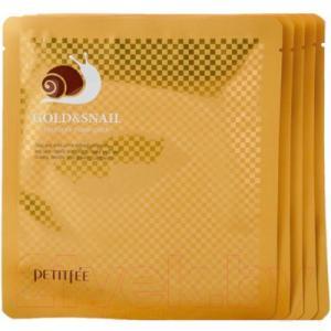 Набор масок для лица Petitfee Gold&Snail Transparent Gel Mask Pack