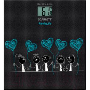 Напольные весы электронные Scarlett SC-BS33E019