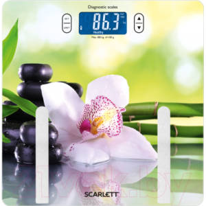 Напольные весы электронные Scarlett SC-BS33ED10