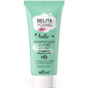 Основа под макияж Belita Young матирующая мгновенная ровность кожи